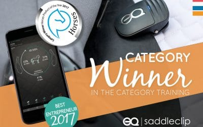 Equestic wins award for Best Equestrian Training Product of the Year 2017 and award for Best Entrepreneur